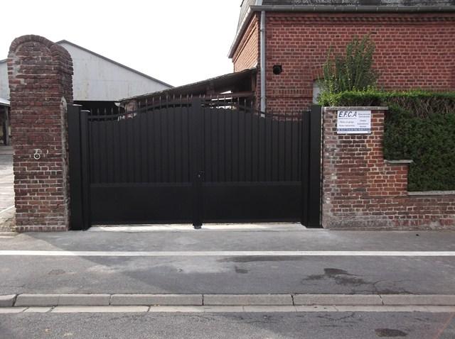 achat portail cambrai pose de portail motoris manuel nord 59. Black Bedroom Furniture Sets. Home Design Ideas